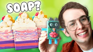The Try Guys Try DIY Soap Art ft. Royalty Soaps
