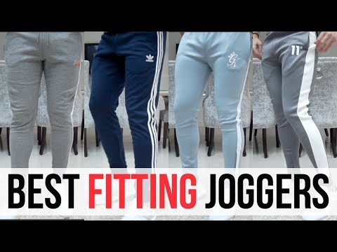 BEST FITTING JOGGERS FOR MEN IN 2018 (Adidas, Ellesse, Gym King, 11 Degrees)