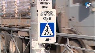 На Нехинской пешеходы неделю рисковали жизнью из-за неисправного светофора