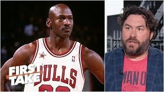 How does Michael Jordan feel about the MJ vs. LeBron GOAT debate?   First Take