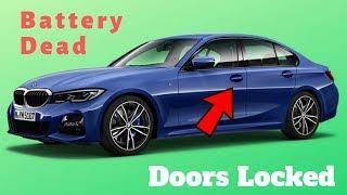 Car battery Dead Can't open Door | BMW 525i | Get Fixed