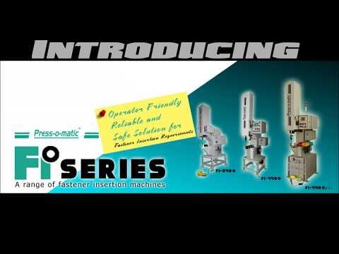 Fi-4400 - Basic Fastener Insertion Machine With 400mm Throat Depth