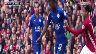 Manchester United Vs Leicester City 41 All Goals And Extended Highlights 2016