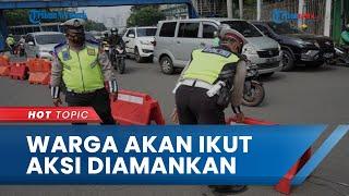 Polisi Sebut Seruan Aksi 'Jokowi End Game' Tak Berizin, Sejumlah Warga Diduga akan Ikut Diamankan