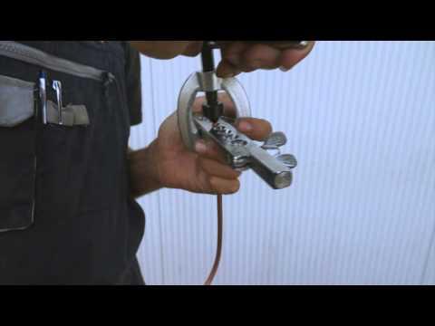 Lincos® KA-7093K Attrezzo per la svasatura di tubi
