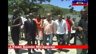 Prezidan Martelly Nan Komin Miragwan