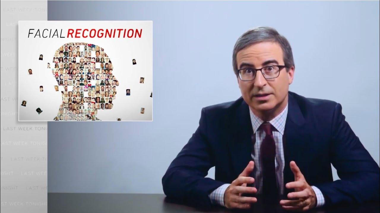 John Oliver facial recognition trailer image