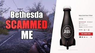 Bethesda Scammed Me. Fallout 76 Nuka Dark Rum.