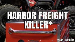 "HARBOR FREIGHT KILLER?? (72"" Husky -vs- US General) Home Depot -vs- Harbor Freight"