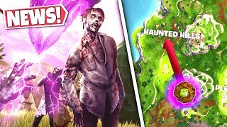 *NEWS* HAUNTED HILLS STRUCK BY CUBE LIGHTNING CAUSING *ZOMBIES* TO RISE! SEASON 6 UPDATE!: BR
