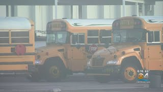 Practice Run For Broward County School Bus Drivers Just Days Before New School Year