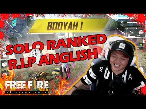 NEW R.I.P ENGLISH AUTO PECAH KEPALA SOLO RANKED SESASON BARU MANTAPKALI
