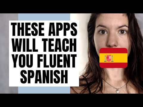 5 Apps to Become Fluent in Spanish | How to learn fluent Spanish online!