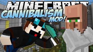 Minecraft   CANNIBALISM MOD! (Eating Dr Trayaurus!)   Mod Showcase
