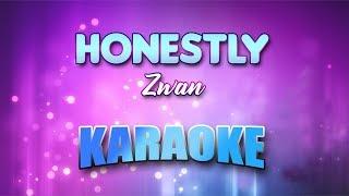 Zwan - Honestly (Karaoke version with Lyrics)