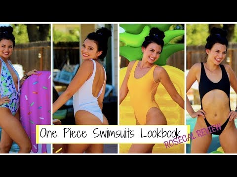 Affordable One Piece Swimsuit Lookbook | Rosegal Review