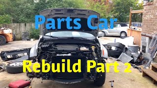 Rebuilding A Wrecked 2016 Jeep Renegade Part 2