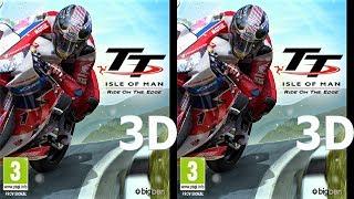 3D VR TV video TT Isle of Man Side by Side SBS google cardboard