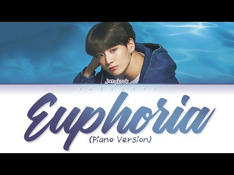 BTS Jungkook (정국) - Euphoria (Piano ver.) (Lyrics Eng/Rom/Han/가사)