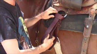 How To Tie A Latigo Knot With A Western Saddle, Mike Hughes, Auburn California