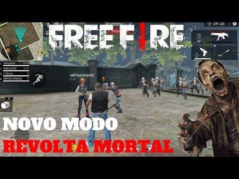 Jogando Free Fire com meu primo no NOVO MODO ZUMBI (Mobile Gaming PC)