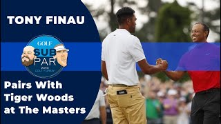 Tony Finau on playing with Tiger at the Masters