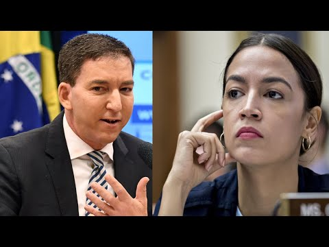 Glenn Greenwald CALLS OUT AOC For Not Working With Ted Cruz Against Wall Street!