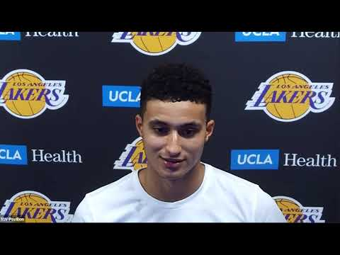 Kyle Kuzma Postgame Interview | Nuggets vs Lakers | August 10, 2020