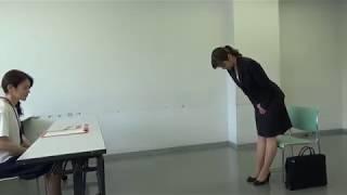 就活カツコ〜面接入退室編〜