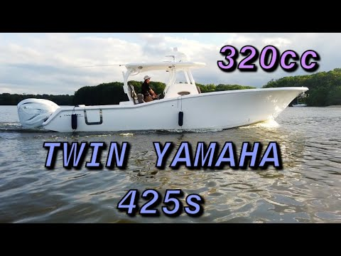 Tidewater 320 CC Adventure video