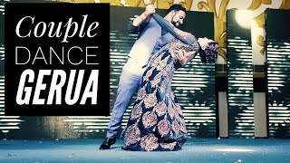 GERUA | COUPLE SANGEET PERFORMANCE | LACHAK CHOREOGRAPHY