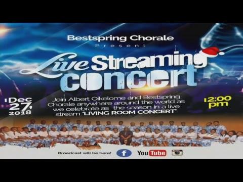 Bestspring Chorale Live stream concert