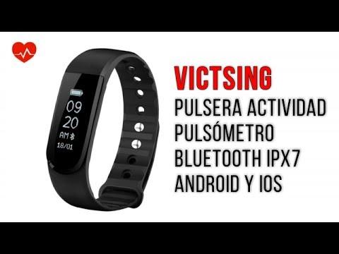 VicTsing Pulsera Actividad IPx7 Monitor de Ritmo Cardiáco Impermeable | UnBoxing + Review en Español