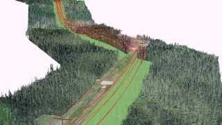 Powerline tree clearing and design