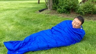 Cool Weather Sleeping Bag by Swift-n-Snug (for temps from 23-59 degrees F)