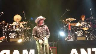 "Adam Ant 'Intro'/""Beat My Guest"" Leeds Arena 27 May 2017"