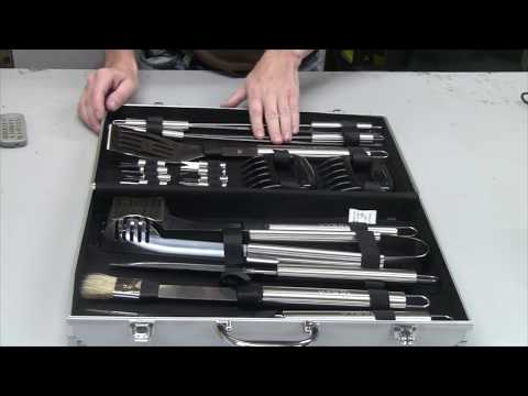 Product Review: 21 Piece BBQ Tools Set By Vysta