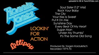 Ronnie Jones: Lookin' For Action [Expanded Album, Vol. 2] (1976)