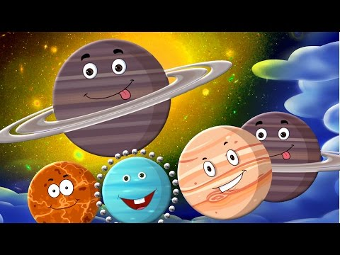 Pianeta canzone | Video di educazione | Imparare pianeta | Solar System For Toddlers | Planets Songs