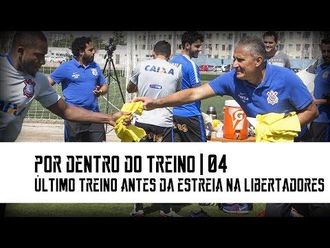 Por dentro do Treino: Último Treino antes da Estreia na Libertadores