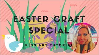 Easter craft ideas // Kids art tutorial 2018