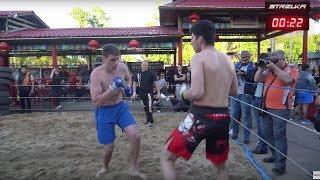 ОДНОПАЛЫЙ БАНДИТ против Тайского Боксера !!!