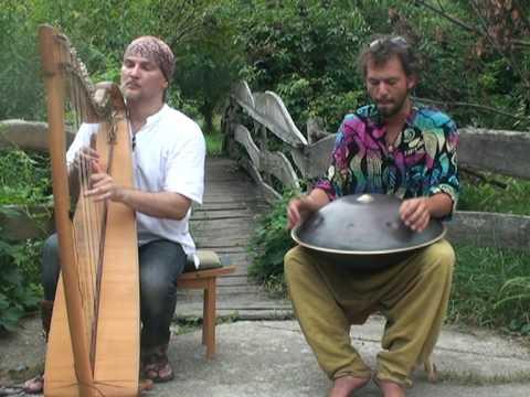 Alizbar & Amin Varkonyi /  Hang drum  with celtic  harp