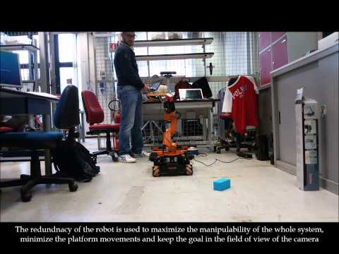 Mobile Manipulation in a completely unknown environment with KUKA youBot