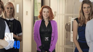 Black Widow Trailer  SNL