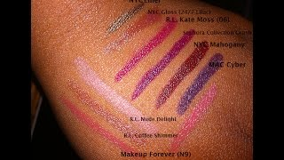 Kiss and Tell | No Rhyme or Reason #LippieReview