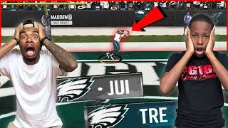 A Lineman Catching TOUCHDOWNS?! Drafted Teams Face-Off! - MUT Wars Ep.64