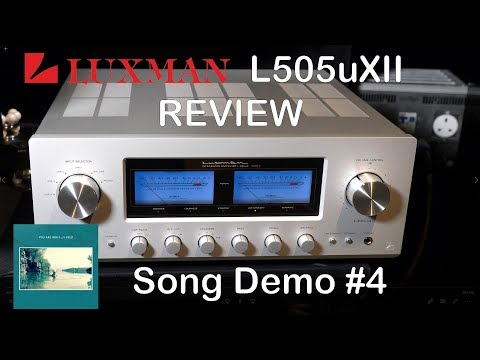 Luxman L505uXII Integrated HiFi Amplifier Review Song Demo #4 + Chord Qutest KEF Reference JPlay
