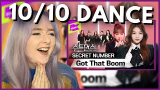 SN Stan Reacts to Secret Number - Got That Boom SUIT DANCE 수트댄스 | Hallyu Doing