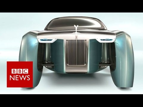 Rolls-Royce shows 'floating' future car - BBC News